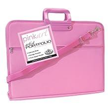 Royal & Langnickel PA-FOLIO46 Pink Art Artist Portfolio Case