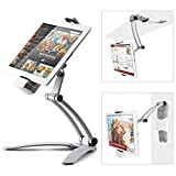 Kitchen Tablet Mount Stand iKross 2-in-1 Kitchen Wall/CounterTop Desktop Mount Recipe Holder Stand for 7 to 13...