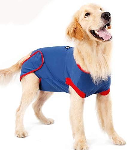 BT Bear Hunde-Regenerationsanzug, weich, elastisch, Baumwolle, für Haustier und Katzen, nach Operationen, Kleidung nach Operationen