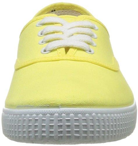 victoria Inglesa Lona, Unisex-Erwachsene High-Top Sneaker Gelb (Limon)