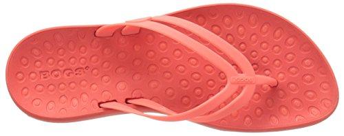 Moeras Womens Hudson Rubberen Flip-flop Meloen