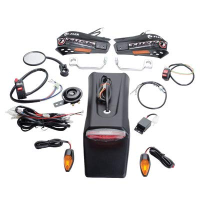 Tusk Motorcycle Enduro Lighting Kit with Handguard Turn Signals - Fits: KTM 250 XC-W (E-Start) 2008-2018 ()
