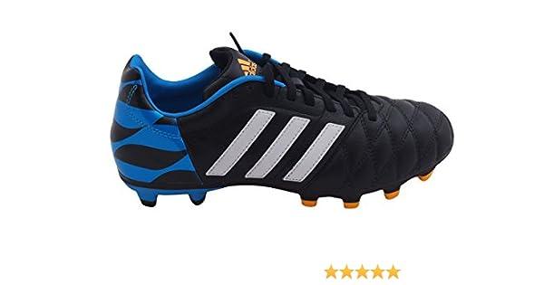 size 40 4b413 1fed4 Amazon.com   Adidas adiPure 11Nova FG Soccer Cleat (Core Black, Solar Blue)  Sz. 6.5   Soccer