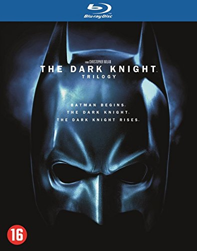 The Dark Knight   Trilogy   5 Disc Box Set   Batman Begins   The Dark Knight   The Dark Knight Rises     Blu Ray  Reg A B C Import   Netherlands
