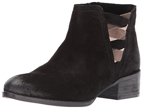 Naughty Monkey Women's the Bridge Ankle Bootie Black official online zD3V4Ns