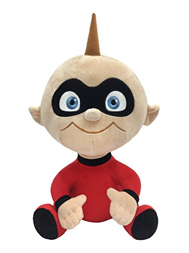 Disney Pixar The Incredibles Plush Stuffed Jack Jack Pillow Buddy - Kids Super Soft Polyester Microfiber, 15 inch (Official Disney Pixar Product) -