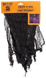 "Scary & Non Scary Halloween Decorations (Black Creepy Cloth 30"" ..."