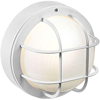 Canarm IOL16WH The Outdoor 1-Bulb Flush Mount Exterior