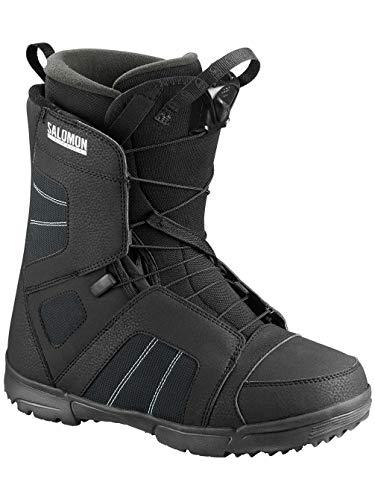 Salomon 2019 Titan Men's Snowboarding Boots (Black, 13.0)