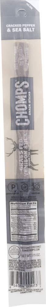 StarSun Depot Venison Stick Pepper Salt, 1.15 oz (1 Item)