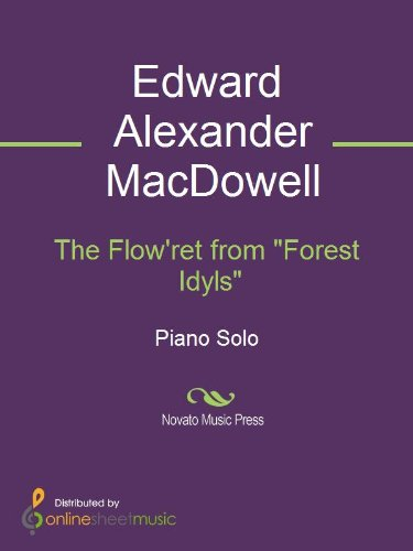The Flowret from Forest Idyls