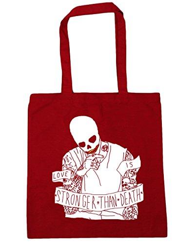 Rojo 10 42cm Playa Capacidad Gimnasio Bolsa Asas De 38cm Bolso Cráneo X Para Hippowarehouse Calavera Compra Con Smoking Litros qwBRxRZpU