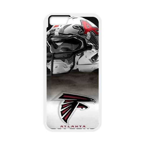 Atlanta Falcons Team Logo coque iPhone 6 Plus 5.5 Inch Housse Blanc téléphone portable couverture de cas coque EBDOBCKCO14337