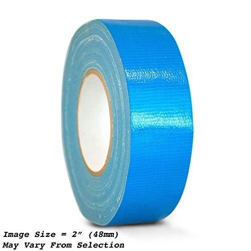 WOD CDT-36 Advanced Strength Industrial Grade Sky Blue Duct Tape, Waterproof, UV Resistant For Crafts & Home Improvement (Available in Multiple Sizes & Colors): 3 in. x 60 yds. (Pack of 1)
