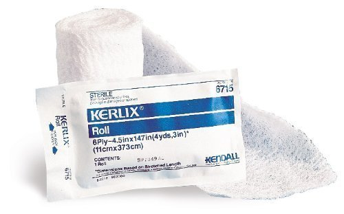 Special 1 Pack of 10 - KERLIX Roll KND6715 4.5 in x 4.1 yds Sterile by KNDL