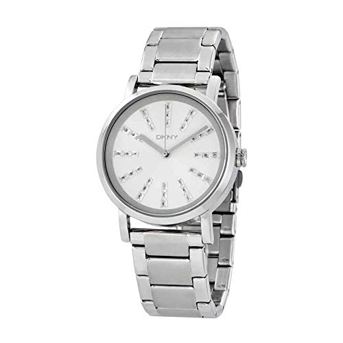 DKNY Women's NY2416 SOHO Silver-Tone Watch