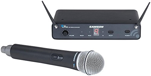 (Samson Concert 88 Wireless Handheld System with Q7 Handheld Dynamic Microphone Band C)