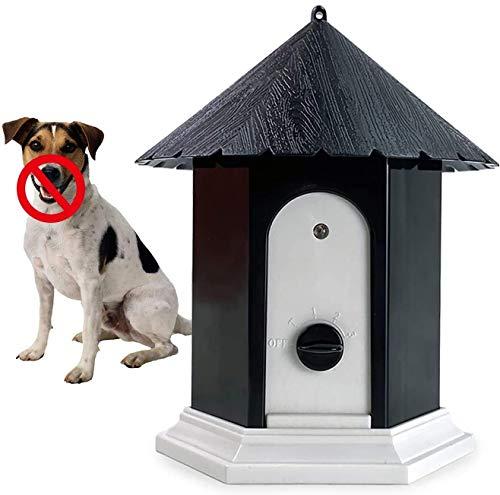 Anti Barking Device, 2021 Upgrade Ultrasonic Bark Deterrents, Bark Control Device for Outdoor, Up to 50 Feet Range…