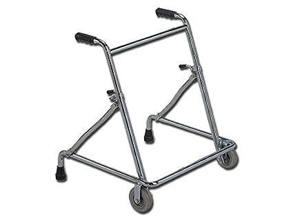 Gima, Andador con ruedas, altura ajustable, carga máxima 100 kg ...