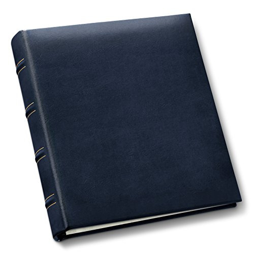 Gallery Leather Compact Photo Album Acadia Navy