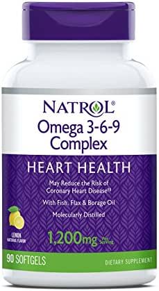Natrol Omega 3-6-9 Complex Softgels, 90-Count