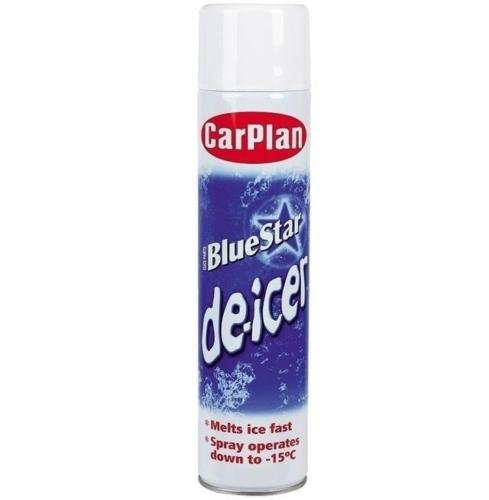 De Icer Car Van Windscreen Ice Defroster Spray 300ml Can Supa Clear