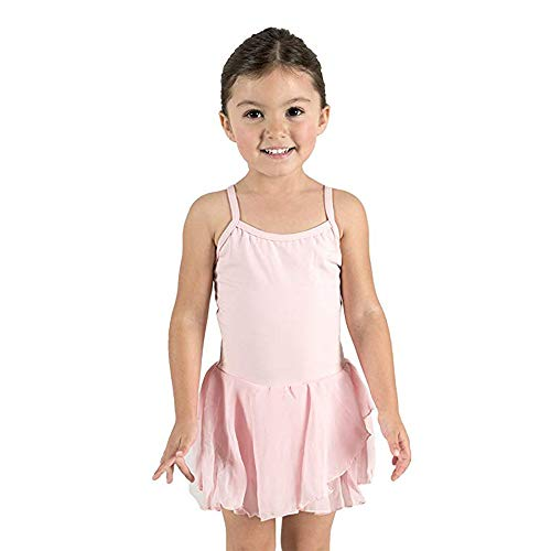 STELLE Girl's Camisole Dress Leotard for Dance, Gymnastics and Ballet(Toddler/Little Girl/Big Girl)(XS, ()