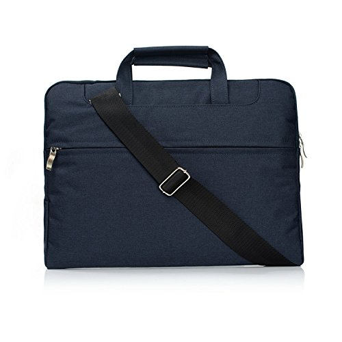 For Laptop Bag Case,Maetek 11-11.6 Inch Multi-functional Laptop Computer Case Cover Sleeve Shoulder Strap Bag with Side Pocket Handles for Laptop,Tablet,Macbook,Notebook-Navy Blue