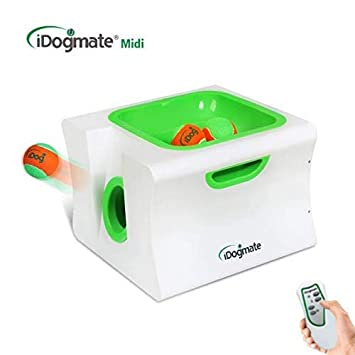 IDOGMATE Big Dog Ball Launcher Automatic Ball Thrower for Dogs
