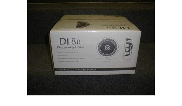 Definitive Technology DI 8R Brand New  In Wall// Ceiling Speaker DI8R Single