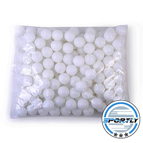 Assortmart SYNCHKG021329 Beer Ping Pong Balls Washable Drinking White, one size fits most, Multicolor