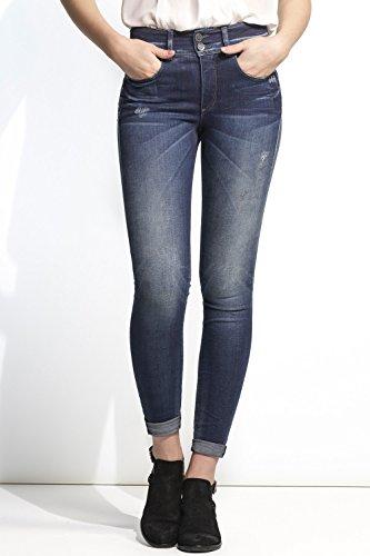 Push Premium SalsaJeans Délavage Femme In JTK13F5ulc