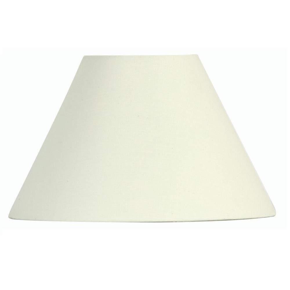 Pantalla dura para lámpara, color crema, de 30 cm, de ...