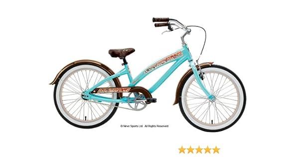 Nirve Suzy-QTM - Bicicleta Infantil para niña, 5-7 años, Color Rojo: Amazon.es: Deportes y aire libre