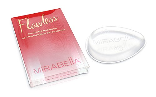 Mirabella Flawless Silicone Sponge - Makeup Blender Tool for Cream and Liquid Foundation - Cosmetic Applicator