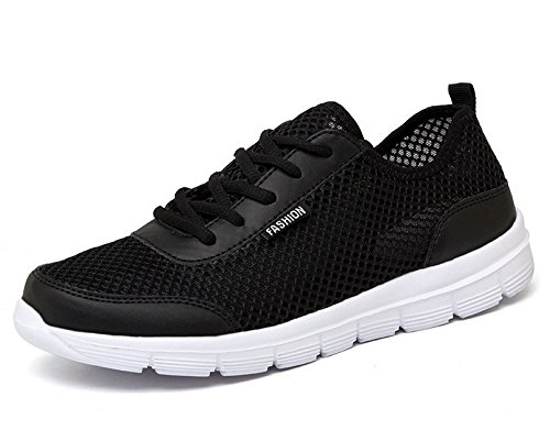 STSM Men's Lightweight Fashion Outdoor Casual Walking Shoes (Black, - Www.boots-uk.com