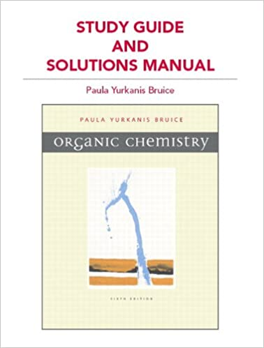 Amazon study guide and solutions manual for organic chemistry amazon study guide and solutions manual for organic chemistry 9780321676825 paula yurkanis bruice books fandeluxe Images