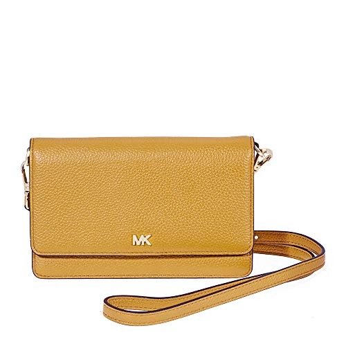 - Michael Kors Pebbled Leather Crossbody- Marigold