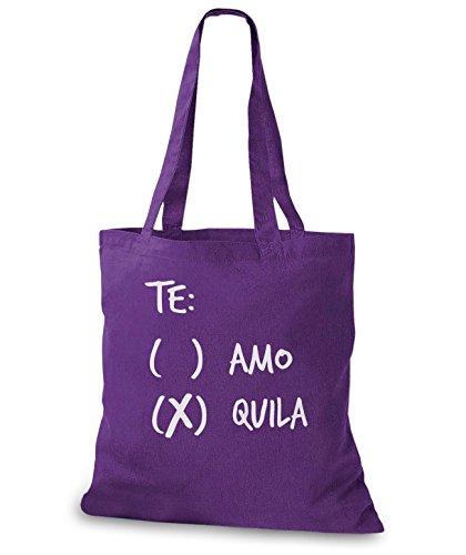 Tequila borsa Stylo custodia Lilla te or Amo iuta bags wq07Rx0Hf