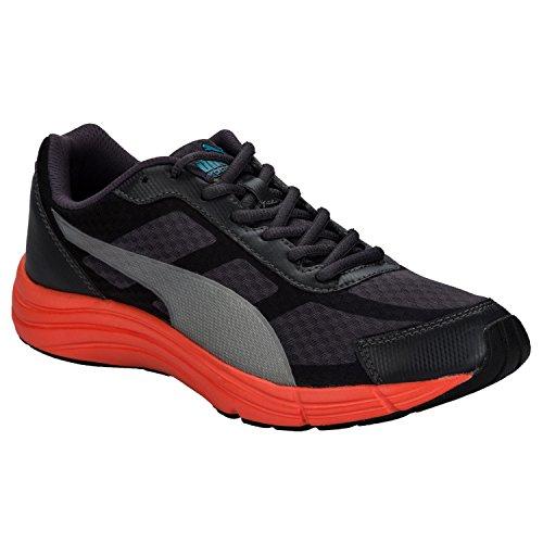 Puma - Zapatillas de Tela para hombre negro gris oscuro