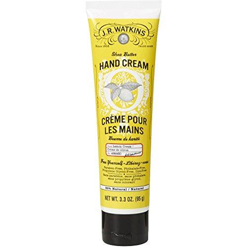 (J.R. Watkins: Shea Butter Hand Cream, Lemon 3.3 oz (2 pack))