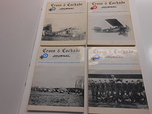 Cross & Cockade Journal - Society of World War 1 Aero for sale  Delivered anywhere in USA