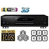 Pioneer BDP-LX58 3D Blu-ray Player Multiregion Blu-Ray & DVD. Code Free Blu-ray Player for All Zone playback.