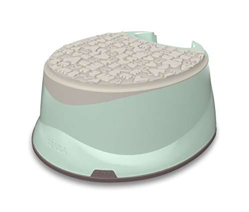 BEABA 2-in-1 Step Stool and Toilet Training Potty Booster, Mint