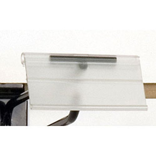 Count of 100 New Retails Scan hook label holder-1-1/4''h x 2-1/2''w by Label Holder