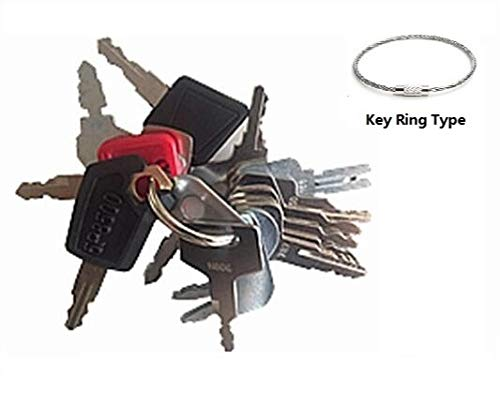 - 16 Keys Heavy Equipment Key Set / Construction Ignition Keys Set