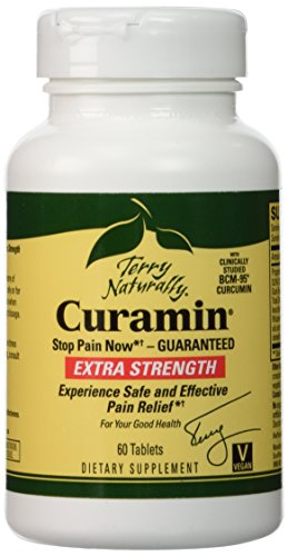 Terry Naturally Curamin Extra Strength, 60 Tablets by EuroPharma