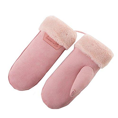 ミトン手袋 レディース 手袋 グローブ ミトン 厚手 日系 上品 暖かい 防寒 カワイイ フリーサイズ Monissy