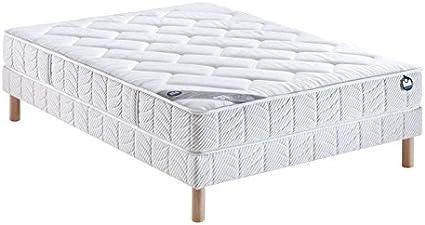 Bultex conjunto, colchón 140 x 190 cm, incluye somier, novo ...