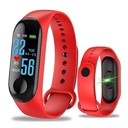 WANGLAI 1 Pc Rastreador de Ejercicios, rastreador de Actividad con Monitor de presión Arterial de Ritmo cardíaco, Pulsera Inteligente con Contador de ...